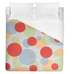 Contrast Analogous Colour Circle Red Green Orange Duvet Cover (queen Size) by Alisyart