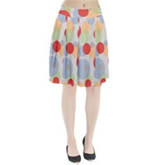 Contrast Analogous Colour Circle Red Green Orange Pleated Skirt