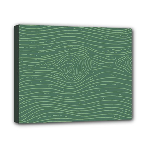 Illustration Green Grains Line Canvas 10  X 8  by Alisyart