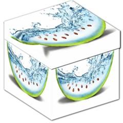 Fruit Water Slice Watermelon Storage Stool 12   by Alisyart