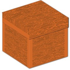 Illustration Orange Grains Line Storage Stool 12   by Alisyart