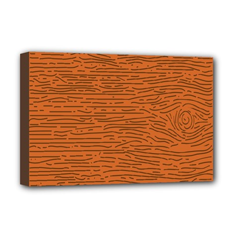 Illustration Orange Grains Line Deluxe Canvas 18  X 12   by Alisyart
