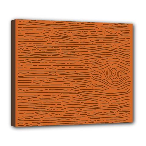 Illustration Orange Grains Line Deluxe Canvas 24  X 20   by Alisyart