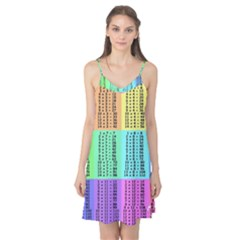 Multiplication Printable Table Color Rainbow Camis Nightgown by Alisyart