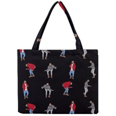 Drake Hotline Bling Black Background Mini Tote Bag by Onesevenart