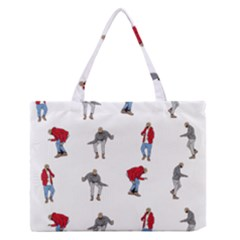 Hotline Bling Medium Zipper Tote Bag by Onesevenart