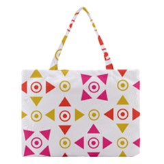 Spectrum Styles Pink Nyellow Orange Gold Medium Tote Bag by Alisyart