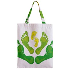 Soles Feet Green Yellow Family Classic Tote Bag by Alisyart