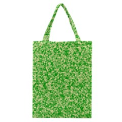 Specktre Triangle Green Classic Tote Bag by Alisyart