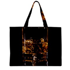 Drink Good Whiskey Zipper Mini Tote Bag by Onesevenart