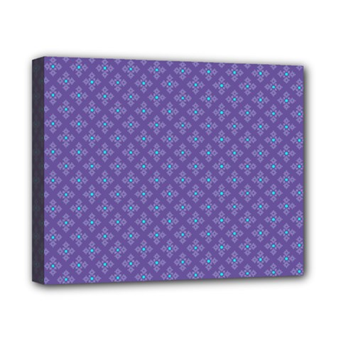 Abstract Purple Pattern Background Canvas 10  X 8  by TastefulDesigns