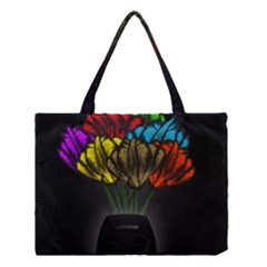 Flowers Painting Still Life Plant Medium Tote Bag by Simbadda