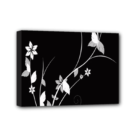 Plant Flora Flowers Composition Mini Canvas 7  X 5  by Simbadda