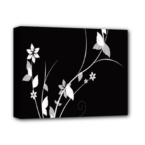 Plant Flora Flowers Composition Deluxe Canvas 14  X 11  by Simbadda
