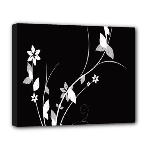 Plant Flora Flowers Composition Deluxe Canvas 20  X 16   by Simbadda