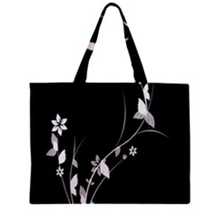 Plant Flora Flowers Composition Zipper Mini Tote Bag by Simbadda