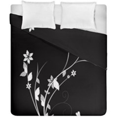 Plant Flora Flowers Composition Duvet Cover Double Side (california King Size) by Simbadda
