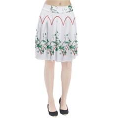 Heart Ranke Nature Romance Plant Pleated Skirt