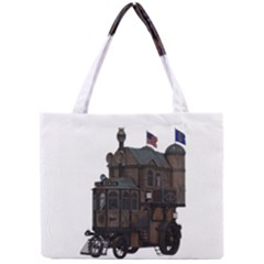Steampunk Lock Fantasy Home Mini Tote Bag by Simbadda