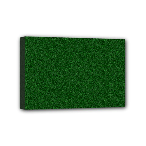 Texture Green Rush Easter Mini Canvas 6  X 4  by Simbadda