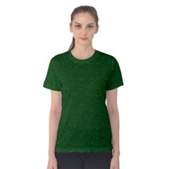 Texture Green Rush Easter Women s Cotton Tee by Simbadda