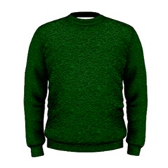Texture Green Rush Easter Men s Sweatshirt