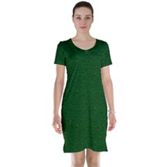Texture Green Rush Easter Short Sleeve Nightdress by Simbadda