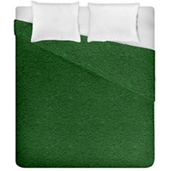Texture Green Rush Easter Duvet Cover Double Side (california King Size) by Simbadda