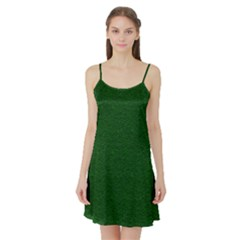 Texture Green Rush Easter Satin Night Slip by Simbadda