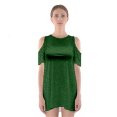 Texture Green Rush Easter Shoulder Cutout One Piece