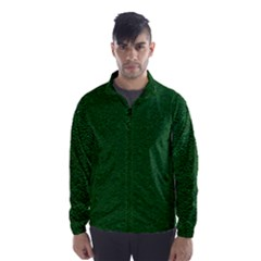 Texture Green Rush Easter Wind Breaker (men)