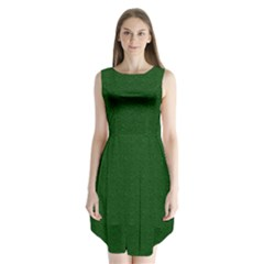 Texture Green Rush Easter Sleeveless Chiffon Dress   by Simbadda