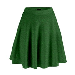 Texture Green Rush Easter High Waist Skirt by Simbadda