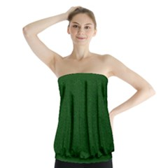 Texture Green Rush Easter Strapless Top by Simbadda