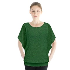 Texture Green Rush Easter Blouse by Simbadda