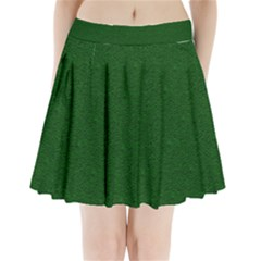 Texture Green Rush Easter Pleated Mini Skirt