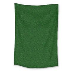 Texture Green Rush Easter Large Tapestry by Simbadda