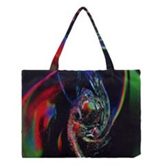 Abstraction Dive From Inside Medium Tote Bag by Simbadda