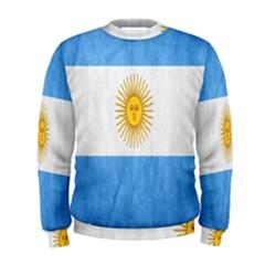 Argentina Texture Background Men s Sweatshirt
