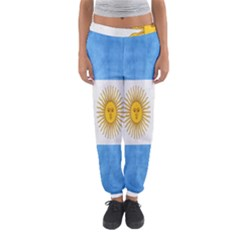 Argentina Texture Background Women s Jogger Sweatpants by Simbadda
