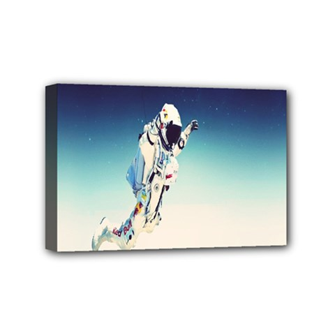 Astronaut Mini Canvas 6  X 4  by Simbadda