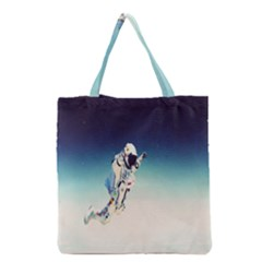Astronaut Grocery Tote Bag by Simbadda