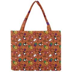 Wine Cheede Fruit Purple Yellow Orange Mini Tote Bag by Alisyart