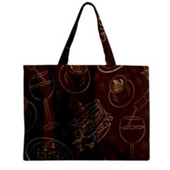 Coffe Break Cake Brown Sweet Original Mini Tote Bag by Alisyart