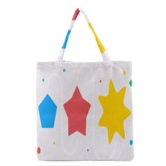 Evolution Jumsoft Star Grocery Tote Bag by Alisyart