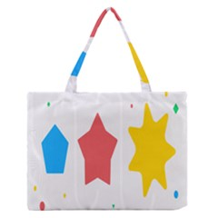 Evolution Jumsoft Star Medium Zipper Tote Bag by Alisyart