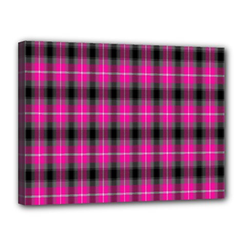 Cell Background Pink Surface Canvas 16  X 12  by Simbadda