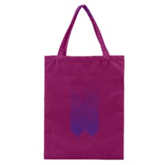 Purple Blue Classic Tote Bag by Alisyart
