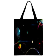 Glare Light Luster Circles Shapes Classic Tote Bag by Simbadda