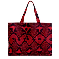 Leather Point Surface Zipper Mini Tote Bag by Simbadda